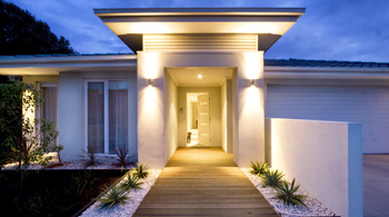 we can design and install feature and security exterior house lights